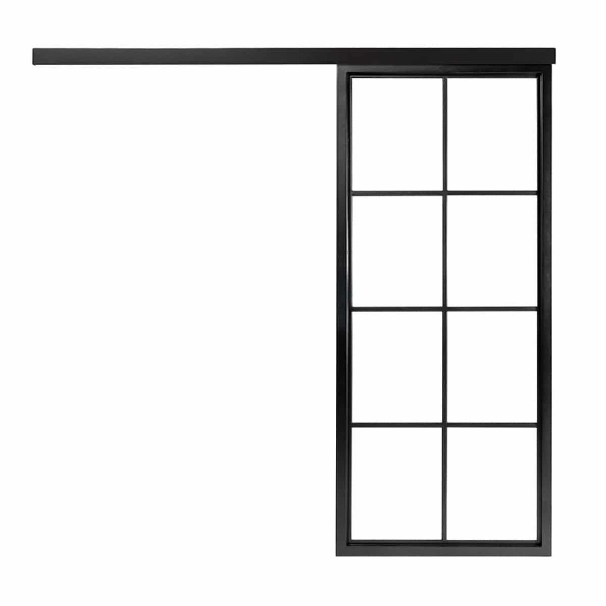 Classic 8 Slide Intense Steelit Door