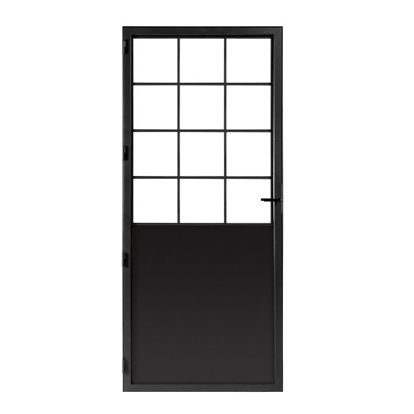 Classic 12 steel door with glass