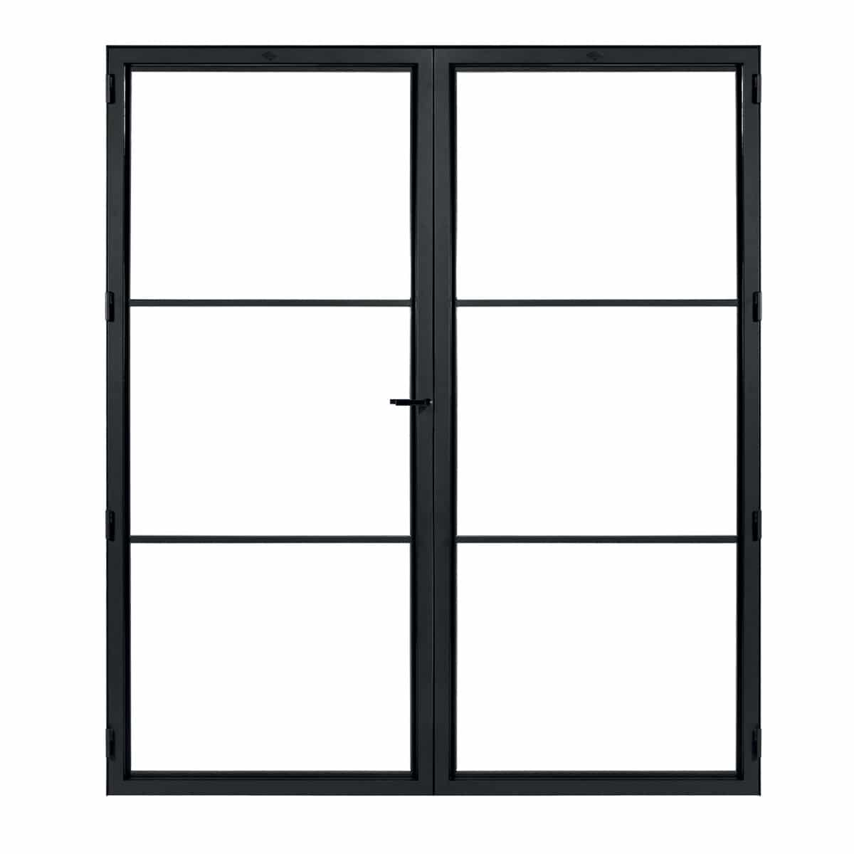 Modern 3 Duo Door from Steelit