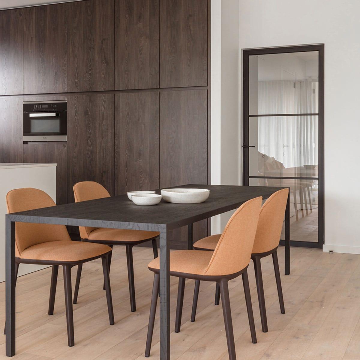 Modern 3 door in kitchen