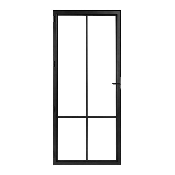 Modern 4 duo steelit door