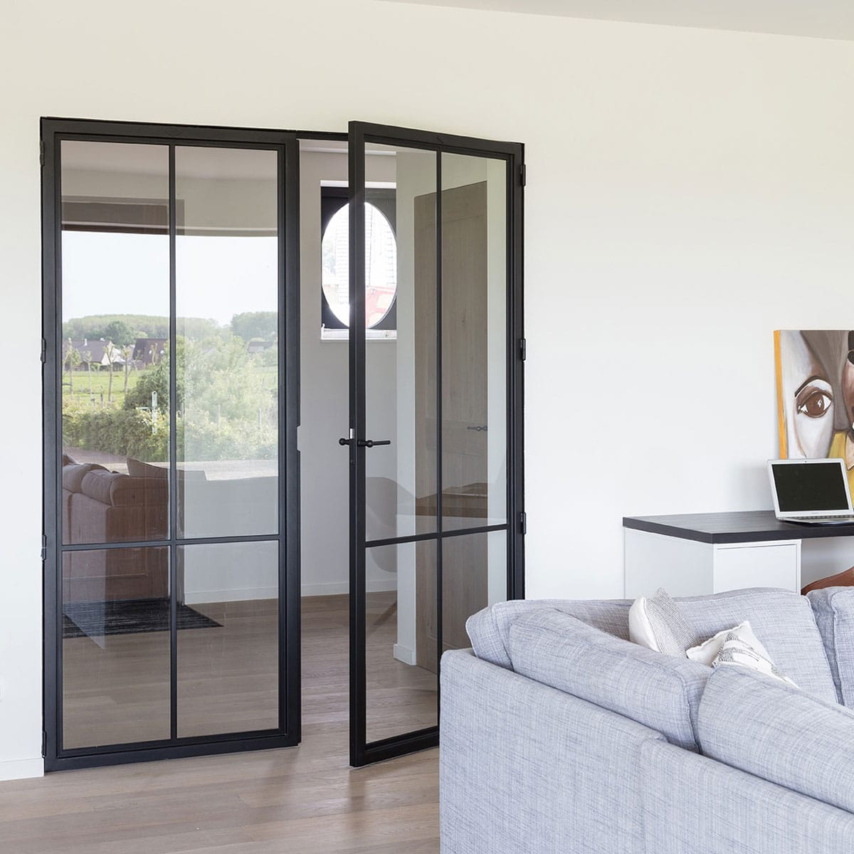Modern 4 Duo Double Door