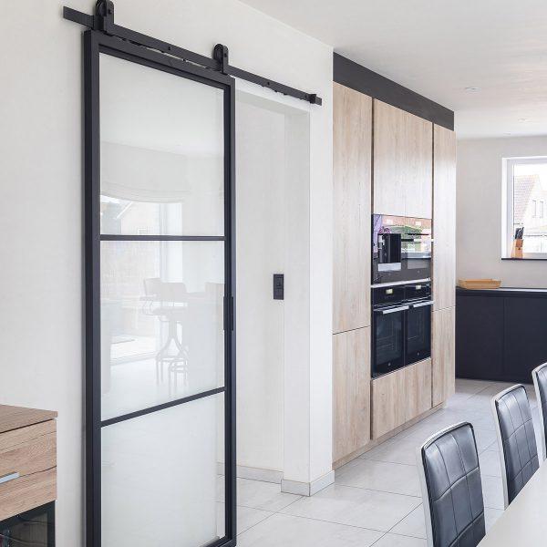 Modern 3 slide in kitchen ireland
