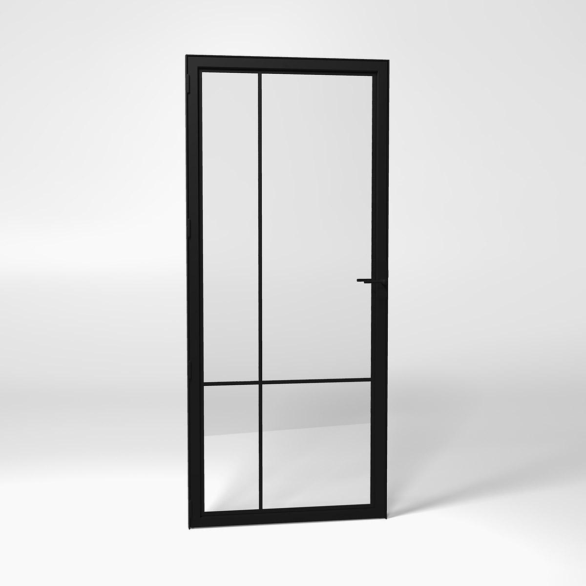 4E steel frame door