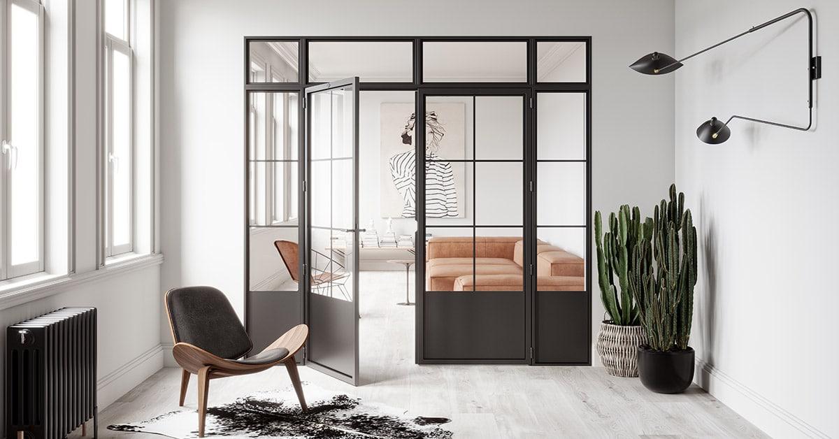 Steelit modular door irish house