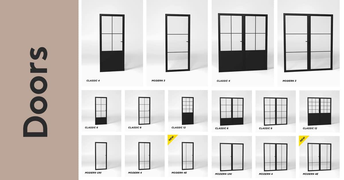 steelit door collection